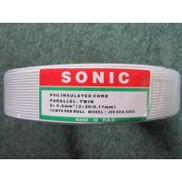 China PVC Insulated Flexible Parallel-Twin wires/cables wholesale