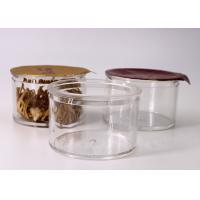 Buy cheap Small Round Clear Plastic Containers Capacity 30 Gram For Protein Powder from wholesalers