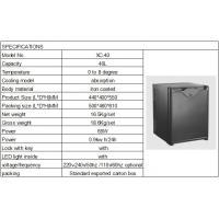 Absorption No Noise Hotel Mini Bars 17 - 65L With Solid Single Door