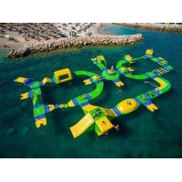 China Customize Floating Children'S Inflatable Water Park wholesale