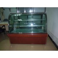 Quality Commercial Flat Top Cake Display Freezer, Marble Cake Display Chiller for sale
