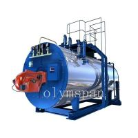 China High Pressure Gas Fired Steam Boiler , 1 Ton Atomized Steel Steam Gas Heating Boiler wholesale