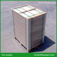 China Recycled pulp 1.5mm thick paper uncoated grey board/grey carton board wholesale