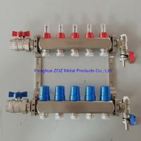 China Underfloor Heating Manifolds Stainless Steel UFH Manifold on sale