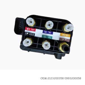 China 2123200358 0993200058 Air Suspension Valve Block For Mercedes - Benz W212 W222 Air Pump Valve wholesale