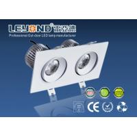 China Double Heads LED Downlight With CREE COB And Anti Glare Lens wholesale