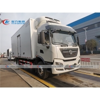 China 10T 15T Dongfeng Refrigerated Van Truck With Thermo King Refrigerator wholesale