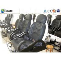 Buy cheap Fiberglass Electronic 5D Movie Theater Motion Chair Genuine Leather With Spray from wholesalers