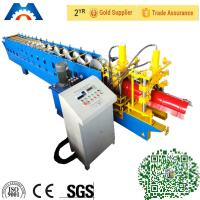 China Galvanized New Type Ridge Cap Light Gauge Steel Roll Forming Machine with CE ISO wholesale
