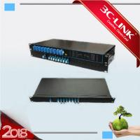"""China 8 Channel Unit DWDM C Band Channels Into Passive DWDM System For 19"""" Rack Type Installation / 1 HU on sale"""