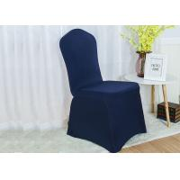 China Comfortable Universal Chair Covers , Folding Chair Slipcover Shigh Density Seaming on sale