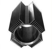 China Hollow Aluminum Extrusion Extruded Aluminum Heatsink 6000 Series T5 T6 wholesale