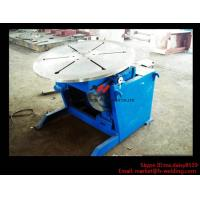 China High Precision Pipe Welding Positioners With Turning / Revolve Table HB30 3000KG wholesale