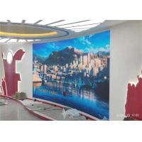 China Horizontal Commercial Led Display , Seamless Indoor Led Advertising Screen wholesale