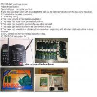 China ET2518-142 Cordless Phone wholesale
