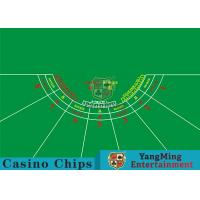 China 7 Players Roulette Board Layout With Personalized Custom Printing Services wholesale