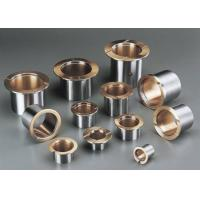 Quality Tin Lead Bronze Alloy CuSn4Pb24 Bi Metal Bearings Carbon Steel HB 45-70 for sale