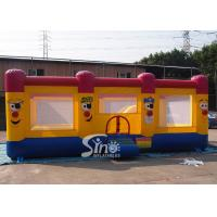 China Big clown kids inflatable jumping castle with ball pit complying with Australia standard for outdoor playground on sale