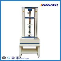 Buy cheap 500KN, 1KN, 2KN Optional Stainless Steel Tensile Testing Instrument With 0.5~500mm/min Speed from wholesalers