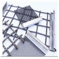 China Stainless Steel Crimped Wire Mesh Barbecue Grill / Mine Screen 1-10mm Wire Gauge wholesale