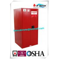 Quality 60 Gallon Industrial Paint Storage Cabinets Steel For Flammables And Combustibles for sale