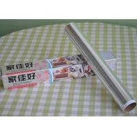 Quality 100% Recyclable Catering Fresh Wrap Aluminium Foil High Temperature Resistant for sale