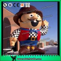 China Promotion Inflatable Cartoon Custom Inflatable Hackbuteer Cowboy wholesale