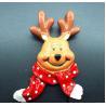 China Winter elk Christmas tree refrigerator magnet,christmas decoration ornaments wholesale