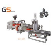China Two stage extrusion filler masterbatch machine single & twin screw wholesale