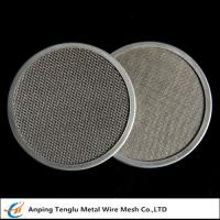 China Stainless Steel Filter Disc|Materials SUS302/304/316 with Single or Multiple Layers wholesale