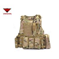 China Comfortable Military Bulletproof Vest , Molle Airsoft Paintball Plate Carrier wholesale