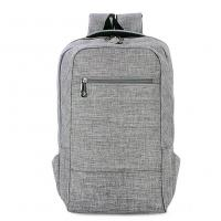 China Environmental Polyester Laptop Bag Backpack With Laptop Sleeve 28*43*12 Cm wholesale