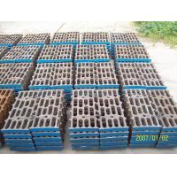China Better Toughness High Mn Steel Mill Liners Casting For Cement Mill / Coal Mill wholesale