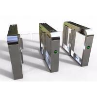 China Door access control 2.2mm thickness DC24V Brushless Motor 0.4sec high speed gate turnstile wholesale
