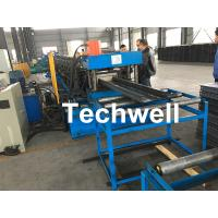 China High Speed Cable Tray Roll Forming Machine With 18 Steps Forming Stations wholesale