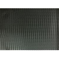 China Black 100% Polyester Coated Fabric Waterproof SGS Certificate wholesale