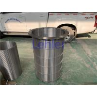 China Large Size Wedge Wire Filter Elements Diameter 600mm Length 1100mm wholesale