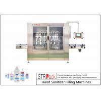 China Hand Sanitizer Automatic Liquid Filling Machine For Liquid Soap,Disinfectant,Detergent,Bleach,Alcohol Gel Etc wholesale