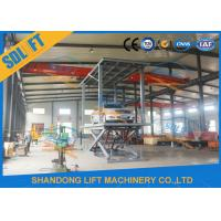 China 3T 2.5M Double Deck Car Parking Lift 2 Cars Hydraulic Scissor Lift for Basement on sale