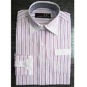 China 100%Cotton Yarn Dyed Men′s Shirts wholesale
