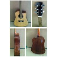 """China 41"""" Deluxe Spruce Solidwood Vintage Wood Acoustic Guitar TP-AG61 wholesale"""