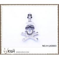 Quality Hot sell 316 Stainless Steel Death's-Head Pendant H-LK0003 for sale