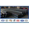China Polygonal Shape Electrical Power Pole Hot Dip Galvanized Steel Tubular Poles wholesale