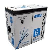Eco Friendly UTP Ethernet CAT6 Cable With CPR PVC Jacket , HDPE Insulation