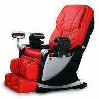 Quality Extendable Footrest 3D Massage Chair with 3-color VFD Display Controller for sale