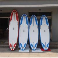 Buy cheap Soft Top Touring Stand Up Paddle Board , Air Sup Board Double Wall PVC Fabric Material from wholesalers