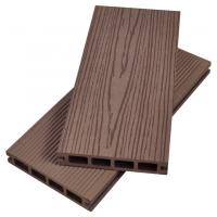 China Hot Sale Waterproof composite hollow dark grey outdoor wpc decking Joist wholesale