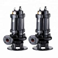 China Centrifugal 3 Phase Submersible Sewage Pump Residential Areas Applied on sale