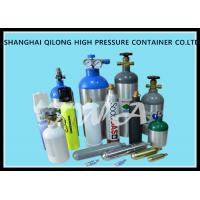 China DOT 0.3l - 1.68L High Pressure Aluminum Alloy Gas Cylinder Safety for CO2 Beverage wholesale