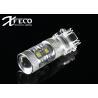 China Durable Led Brake Light Bulbs 3156 P27W For Car Tail Light / Rear Fog Lamp Error Free wholesale